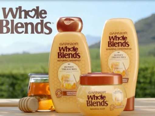 Garnier - Whole Blends - Heal Damaged Hair<span class=