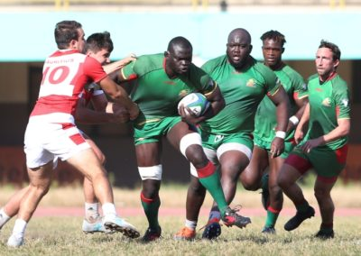 The Rugby Africa Cup - Senegal VS Mauritius 1
