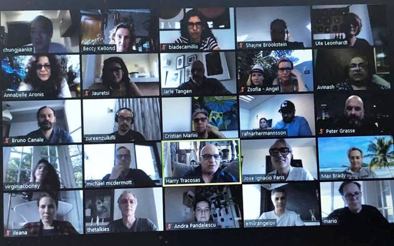 What happens when you get 53 producers from 53 countries on a zoom call? Production gold, that's what.