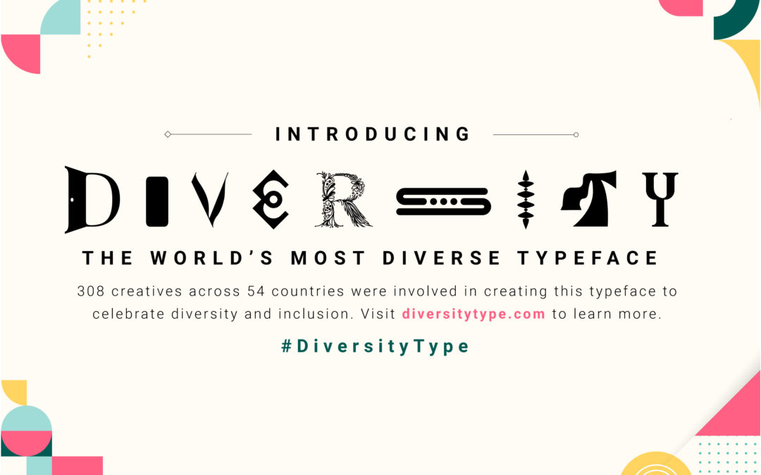 May 21st is World Diversity Day. We're proud to be using #diversitytype today